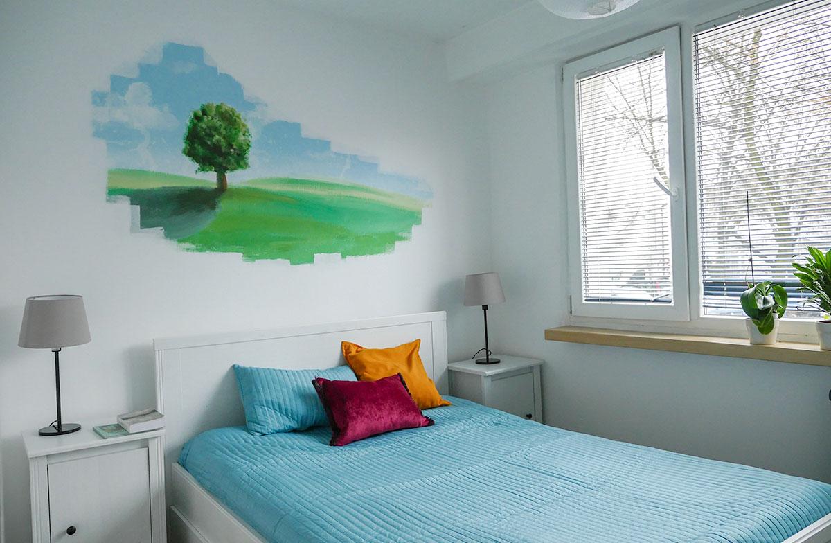 Home Staging sypialnia Łódź