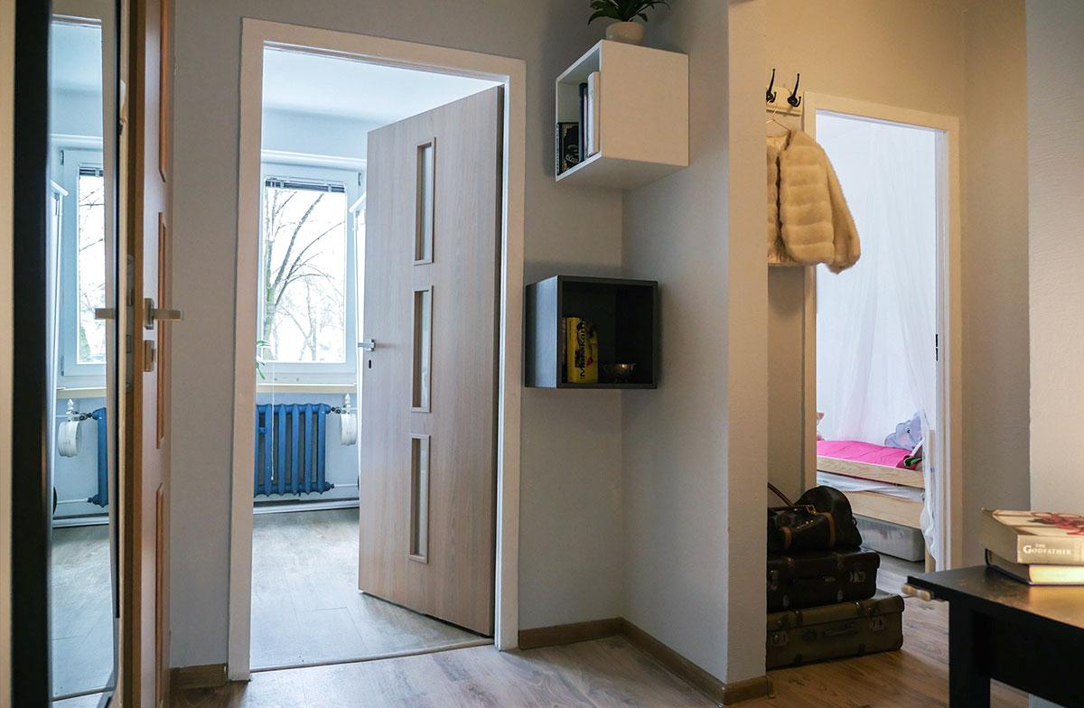 Home Staging mieszkanie w Łodzi