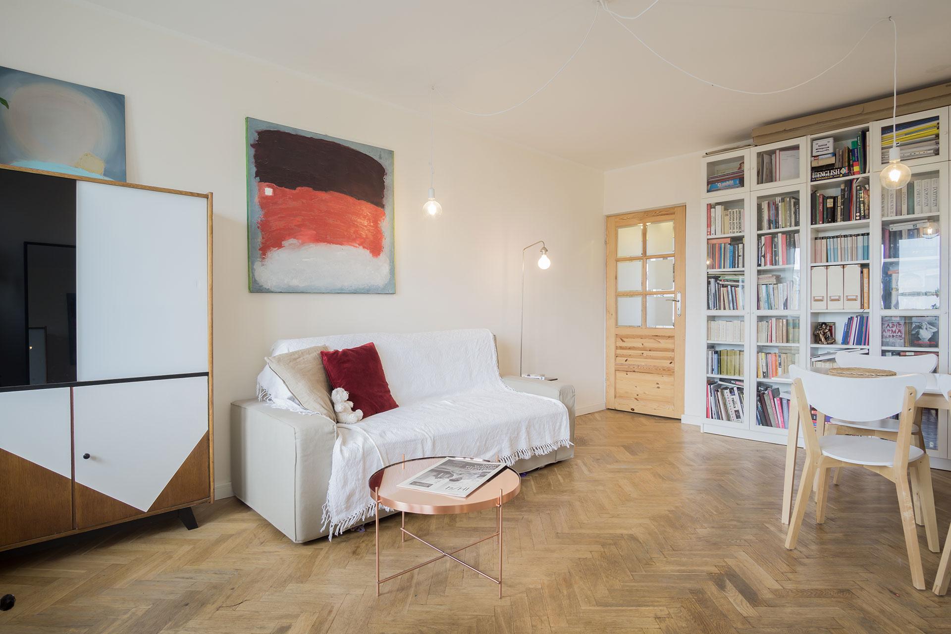 Home staging mieszkania w Łodzi