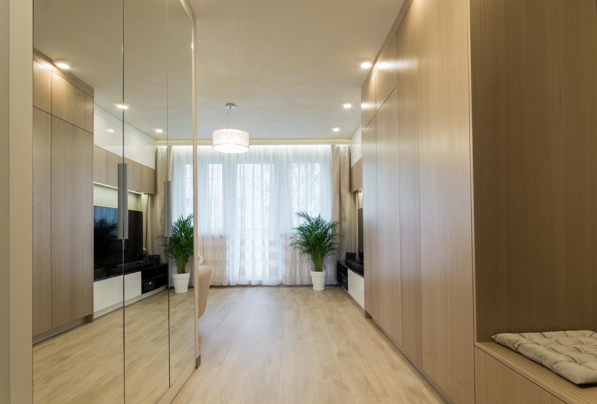 Projektowanie wnętrz - mieszkanie na retkini w Łodzi