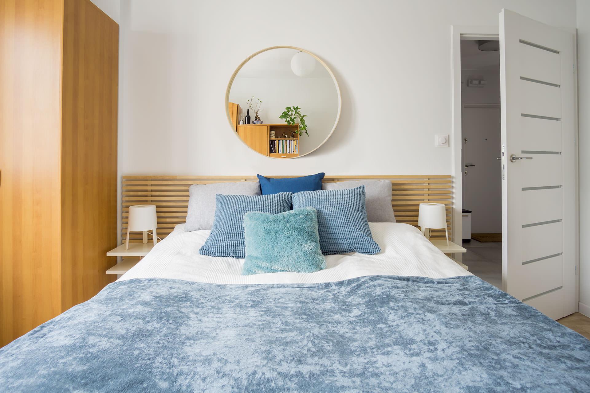 home staging - sypialnia w bloku