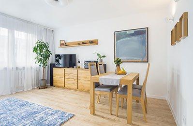 zdjęcia wnętrz mieszkania w Łodzi