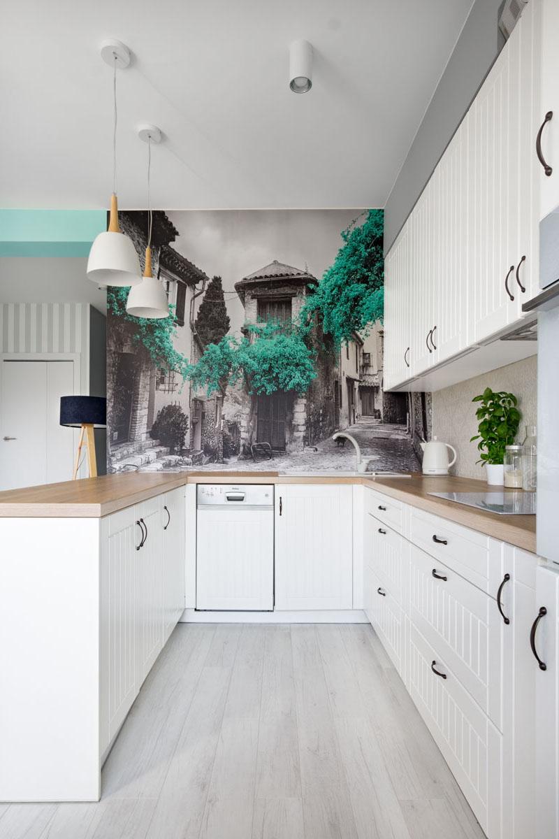 Fototapeta w kuchni - zdjęcia wnętrz Wow House