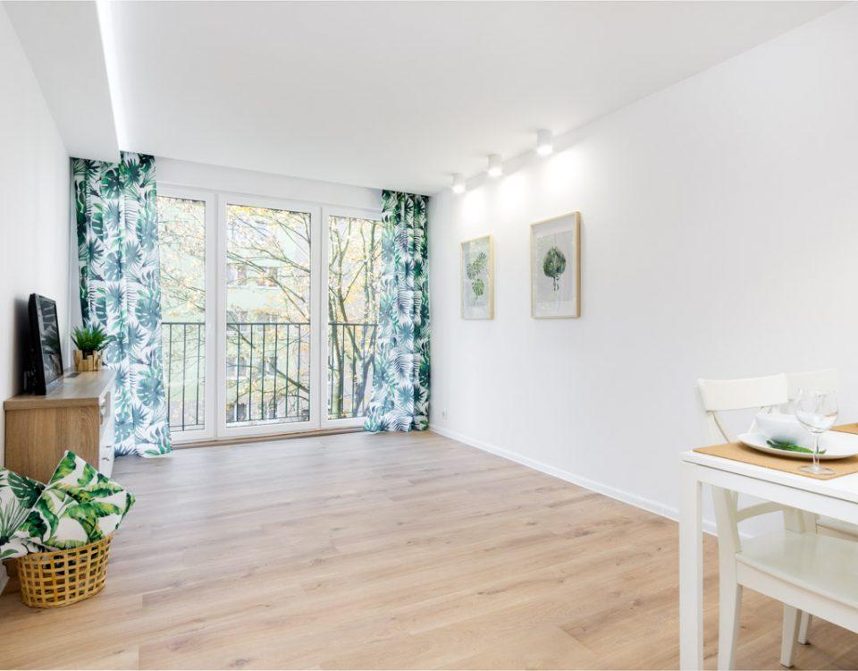 Zdjęcia wnętrz mieszkania na sprzedaż w Łodzi