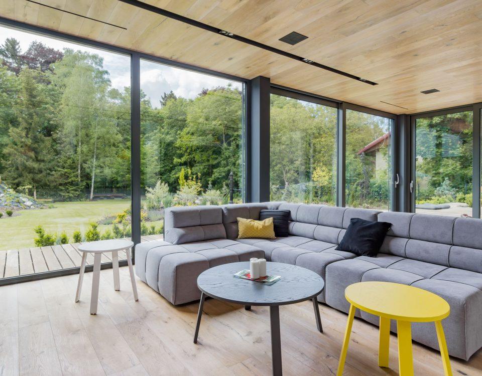 Fotografia wnętrz nowoczesnego luksusowego domu