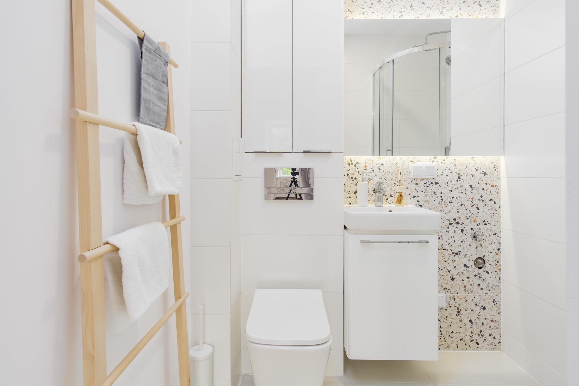 projekt wnętrz mieszkania - łazienka