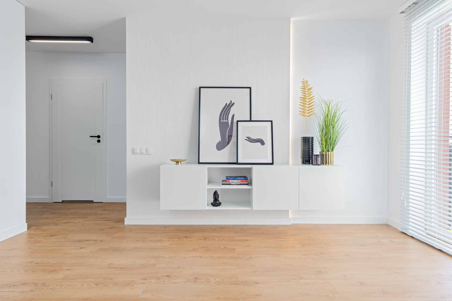 Projekt wnętrz -designerski apartamentu