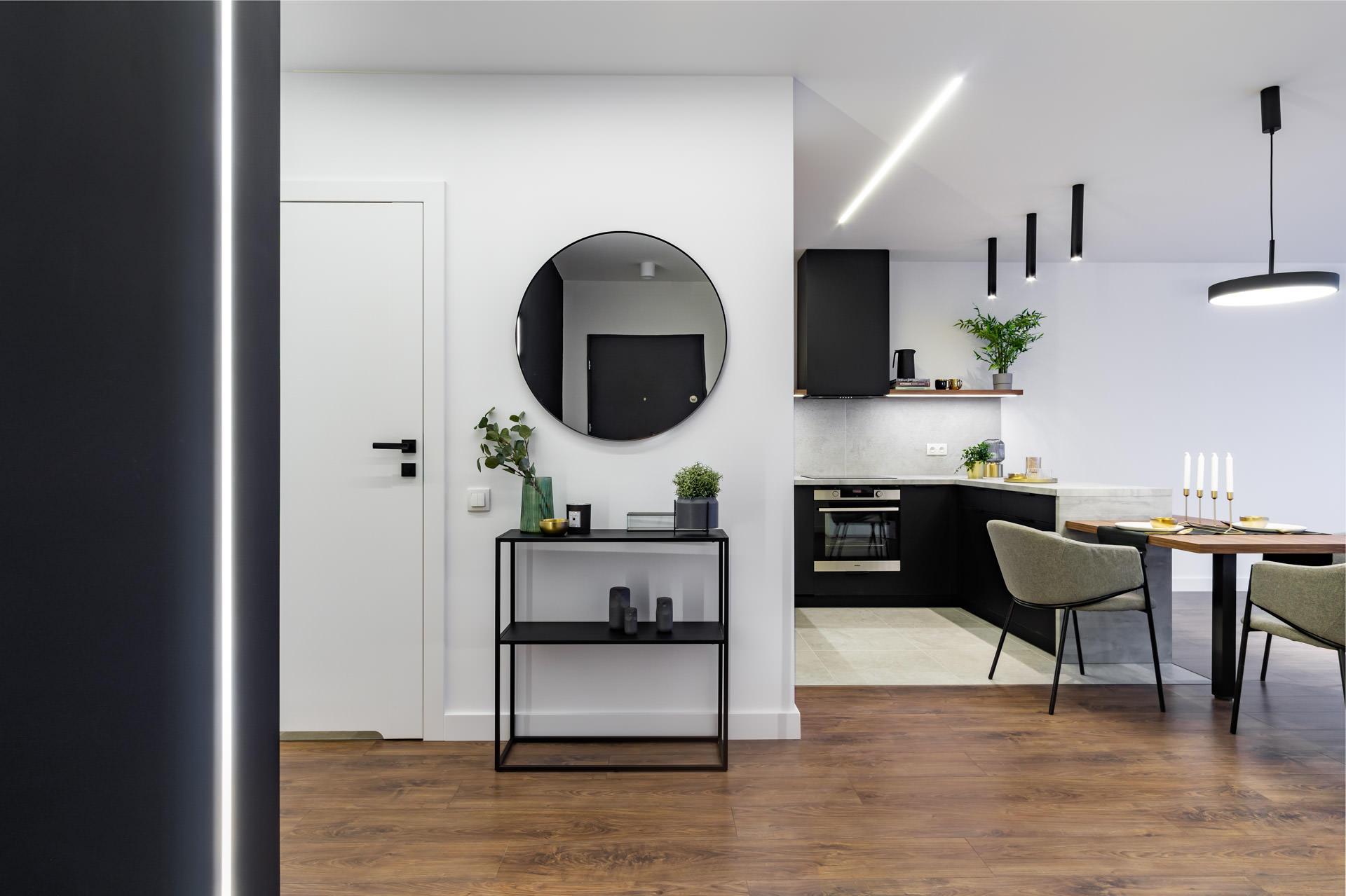 projekt wnętrz mieszkania