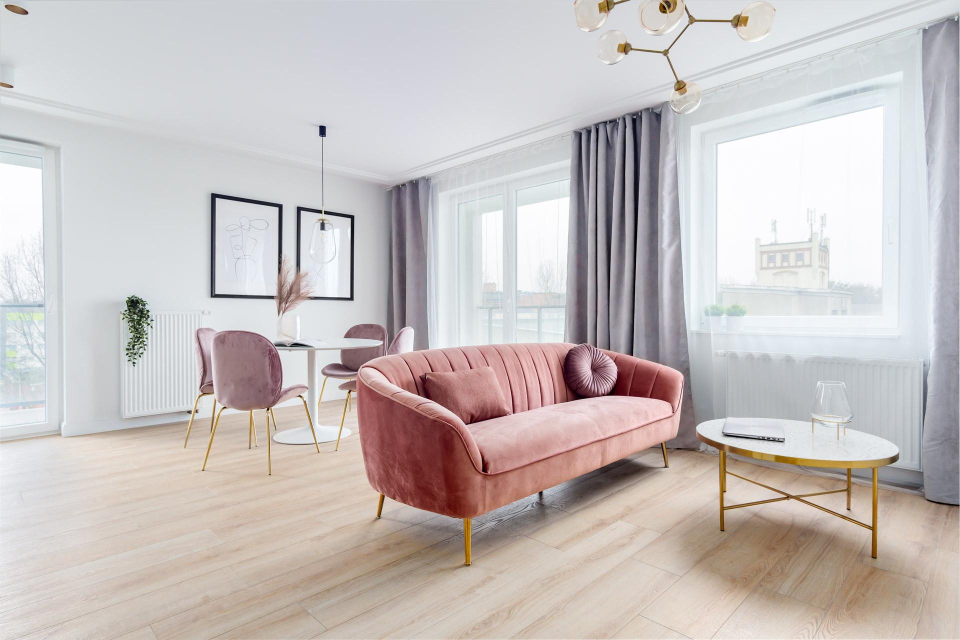 Projektowanie wnętrz - mieszkanie 3 pokoje