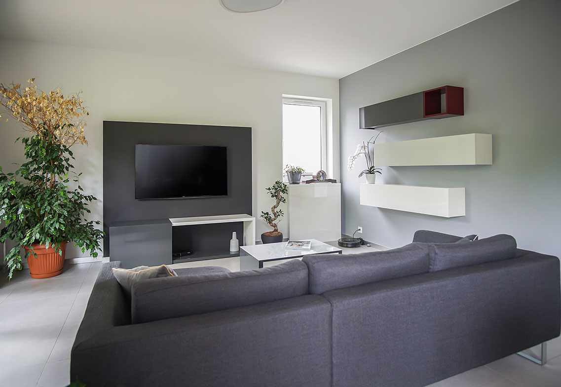 Projekt wnętrz - mieszkanie w Łodzi