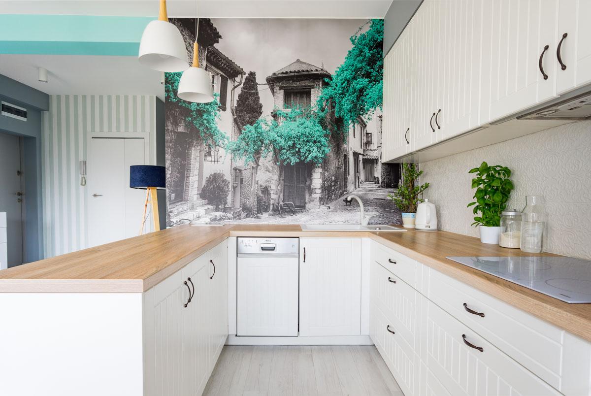 Aneks kuchenny w mieszkaniu - fotografia wnętrz Wow House