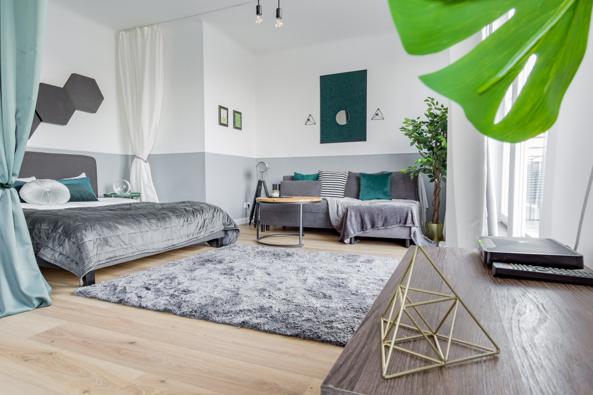 Sesja zdjeciowa mieszkania na airbnb