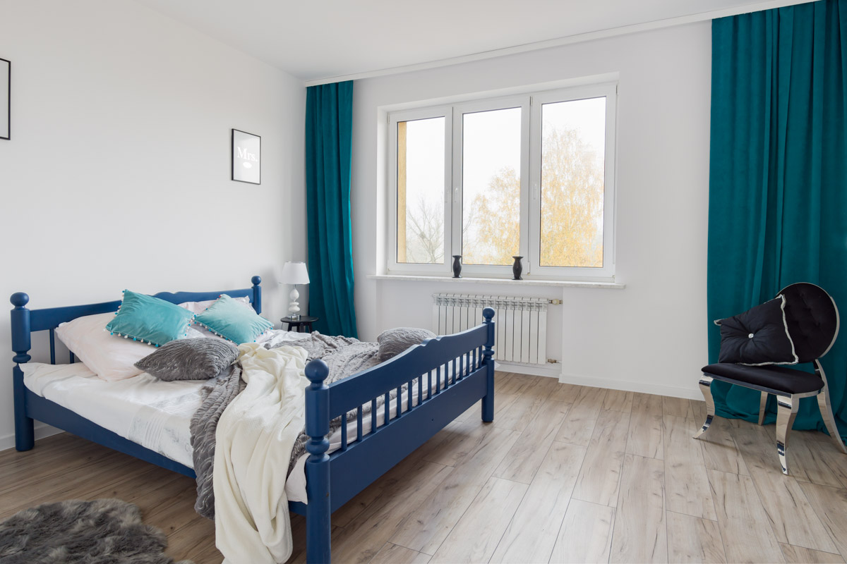 Zdjecie sypialni po remoncie - fotografia wnętrz