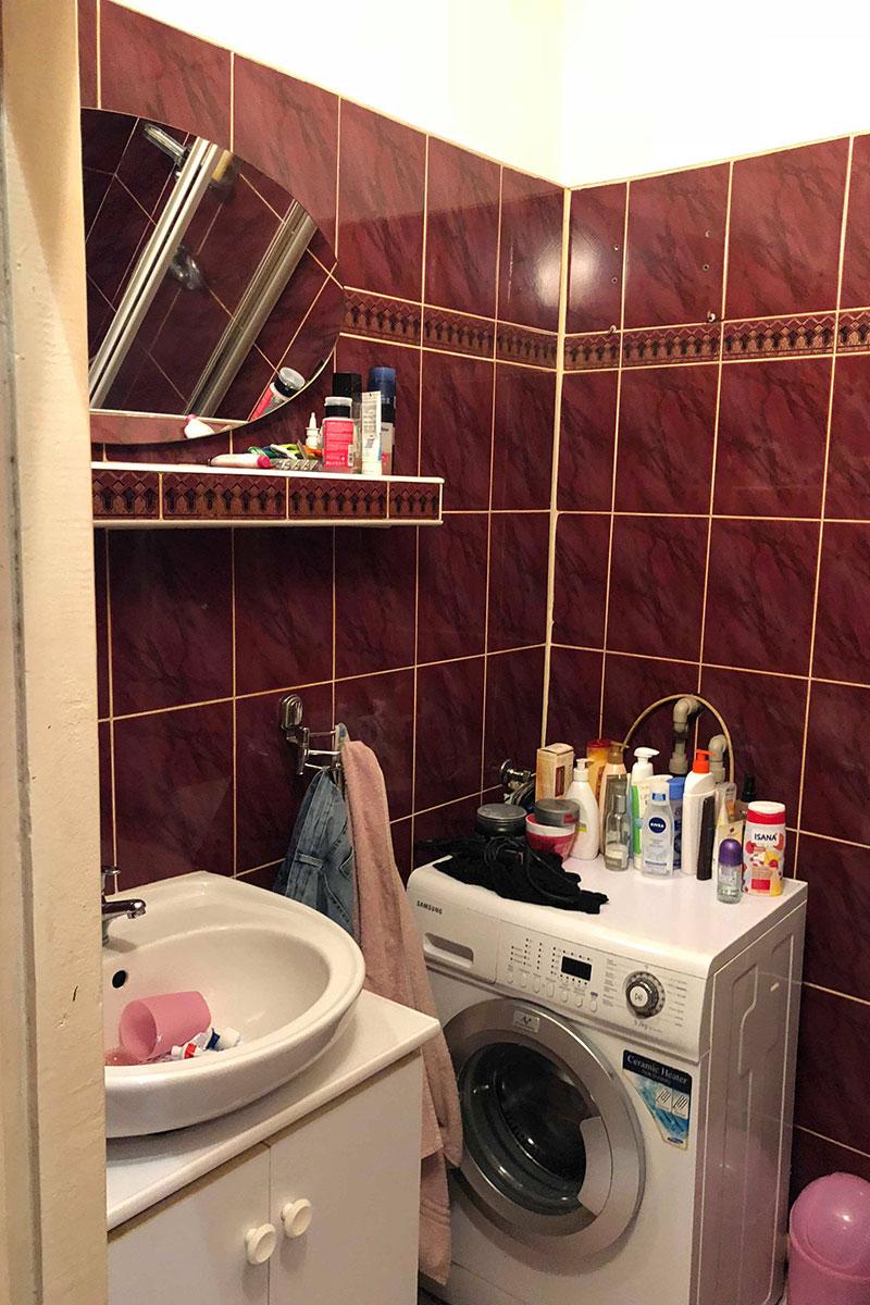 łazienka przed home staging