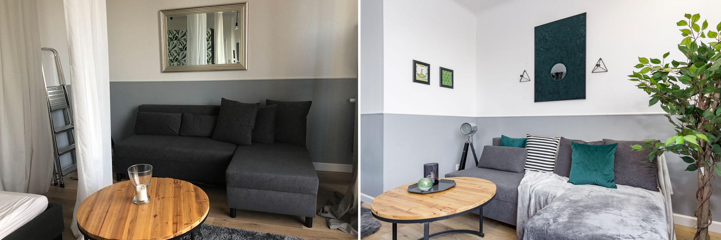 home staging przed i po