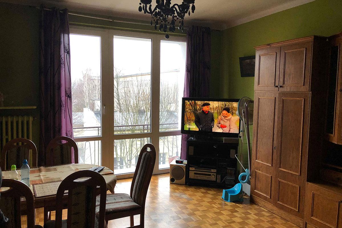 salon przed home staging
