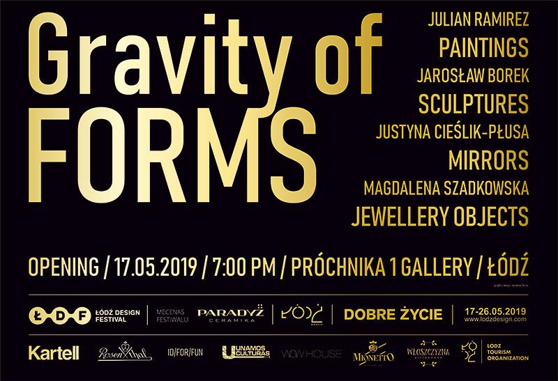 Wernisaż wystawy Gravity of Forms