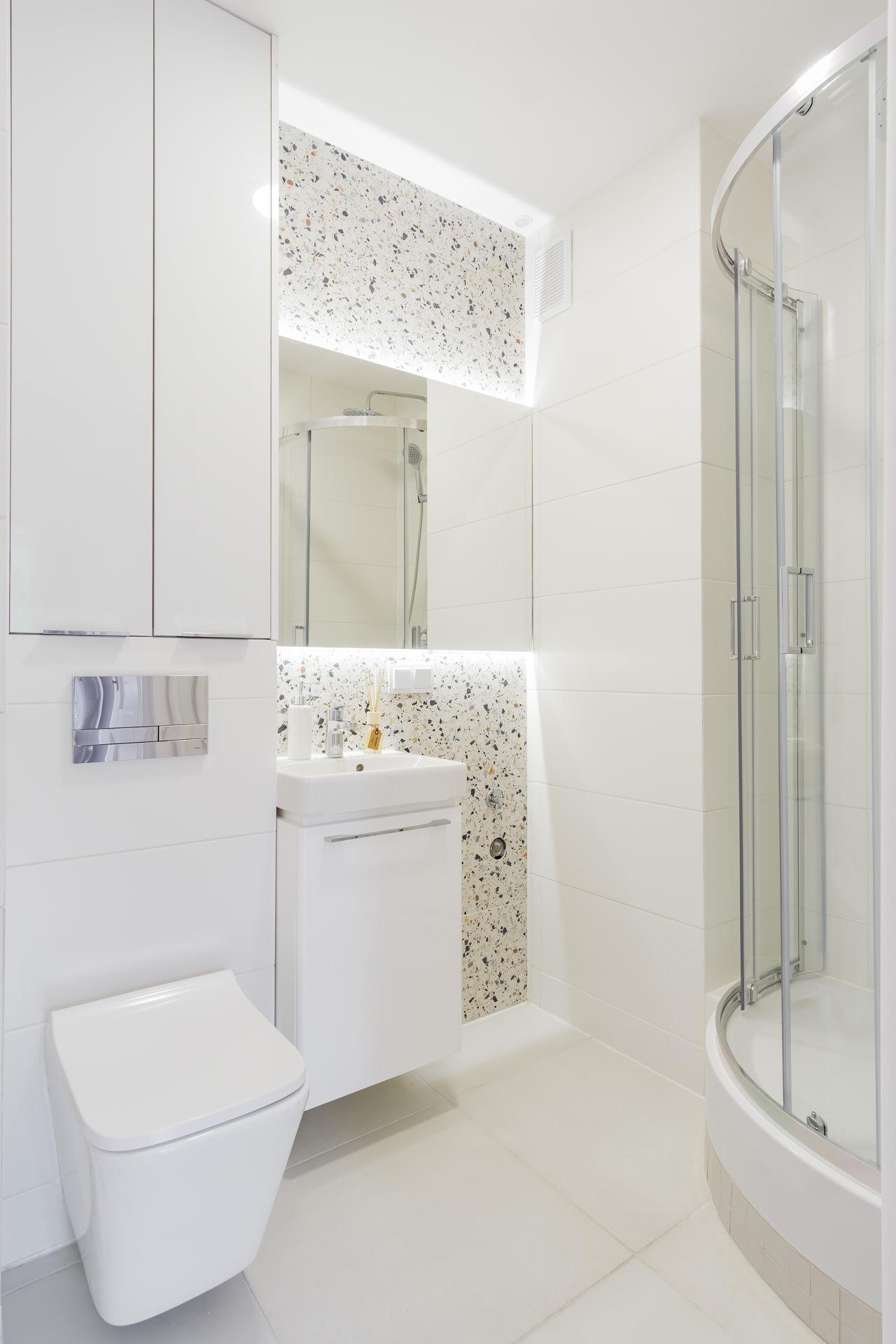 Projekt mieszkania 2 pokojowego w Łodzi 48 m2