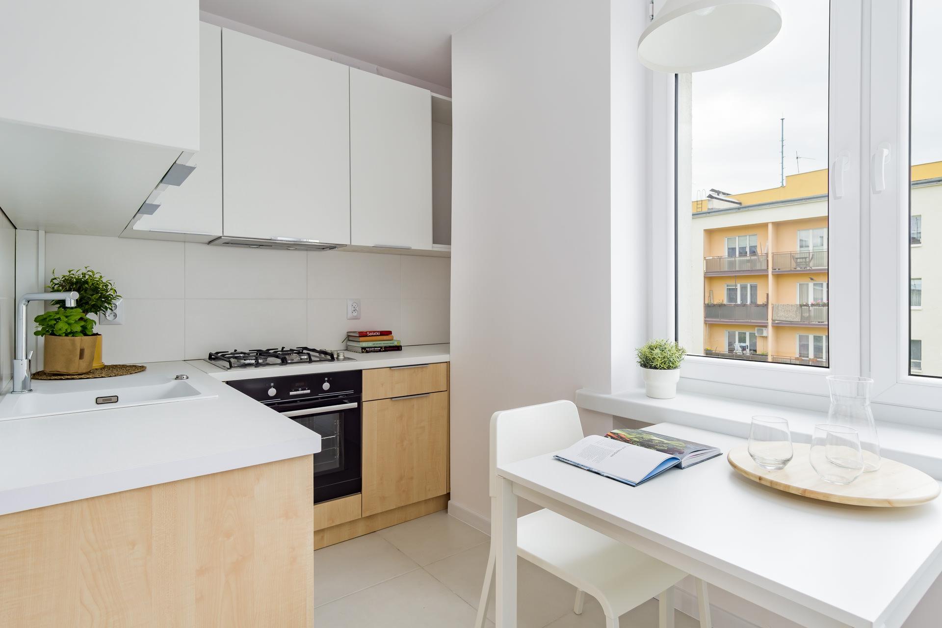 projekt wnętrz mieszkania - kuchnia