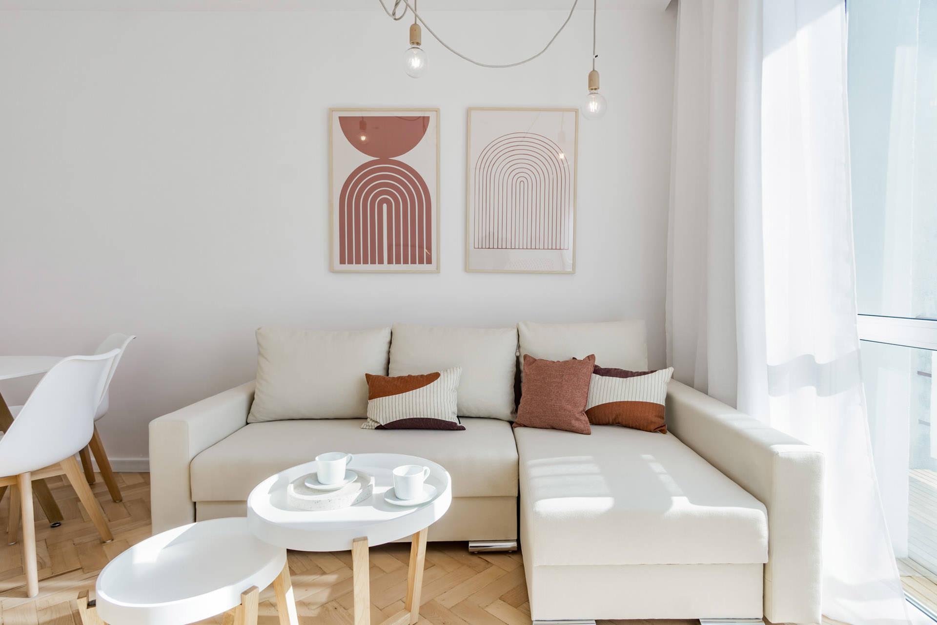 projekt wnętrz mieszkania -salon