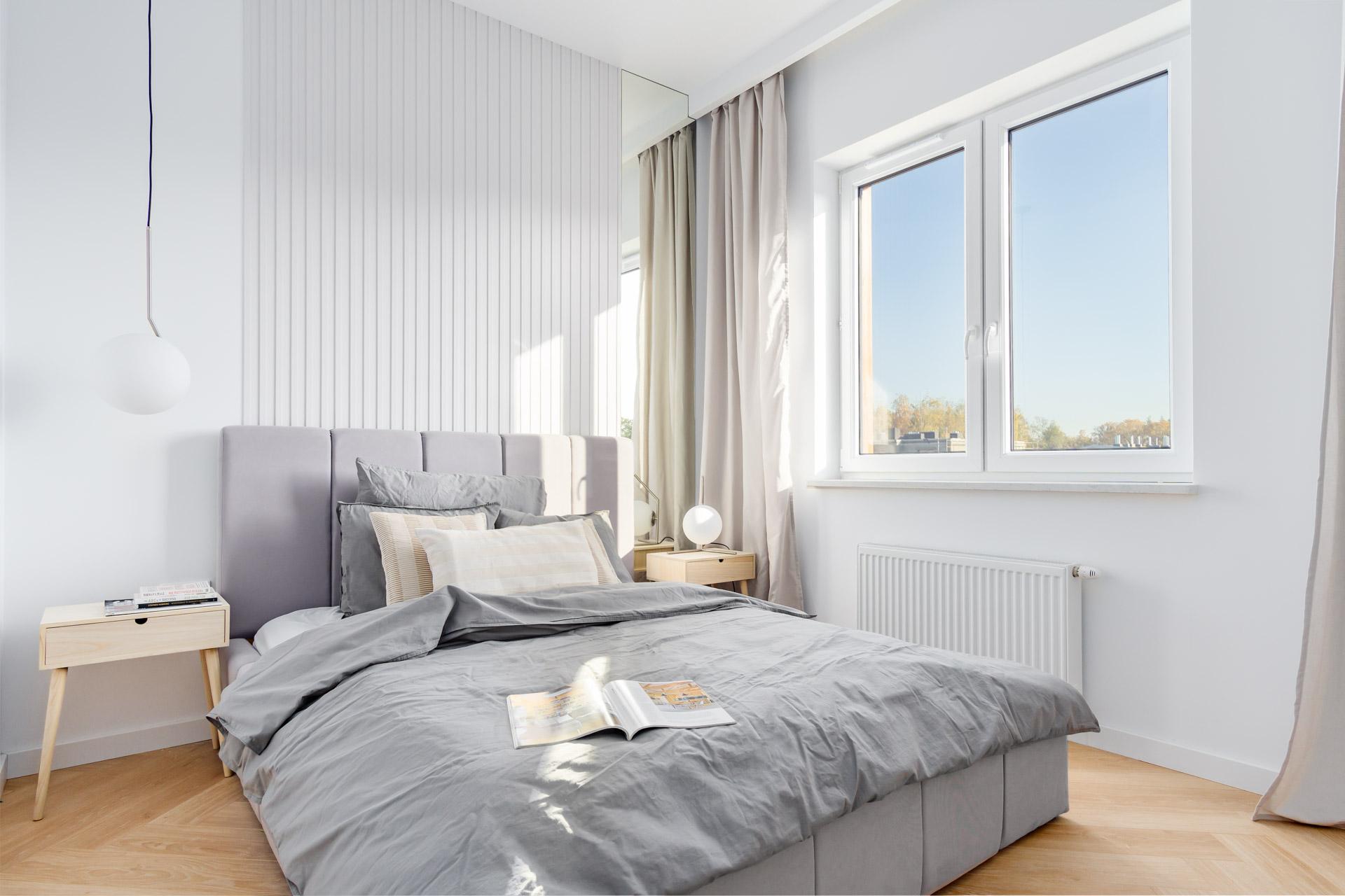 Projekt sypialni w nowym bloku